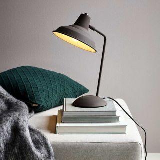 Lampe de table Andy métal rouille d.20 cm