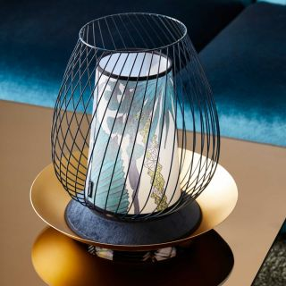 Lampe de table Oasis midnight blue d.35 cm