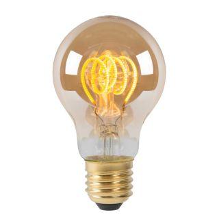 Ampoule à filament LED dimmable verre ambre E27 5W