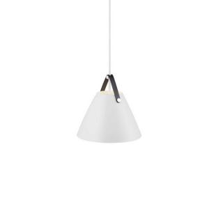 luminaire design for the people suspension strap 27 métal blanc et sangle en cuir 11010040 principale