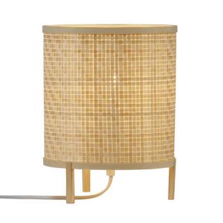 luminaire nordlux lampe de table trinidad en bambou naturel tressé 11010018 principale
