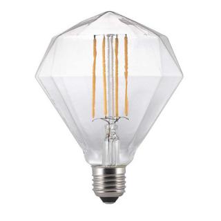 luminaire nordlux ampoule à filament led avra diamond verre transparent e27 2w 11060022 principale