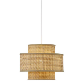luminaire nordlux suspension trinidad en bambou naturel tressé 11010017 principale