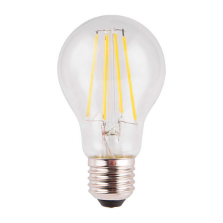 luminaire market set ampoule à filament led a60 edison dimmable verre transparent e27 10w 11060008 détail 1