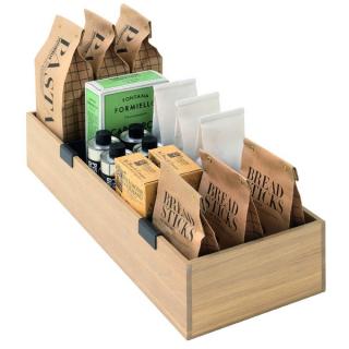 Boîte à provisions en bois pour casserolier Schmidt