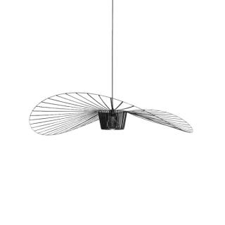 luminaire petite friture suspension vertigo acier et fibre de verre noir d140cm 11010046 principale