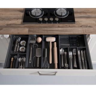 Range-couverts sous plaque de cuisson 8 compartiments pour tiroir Schmidt