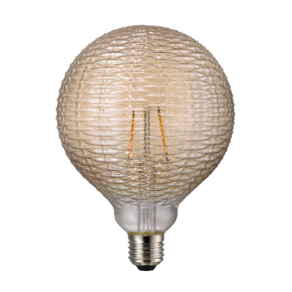 luminaire nordlux ampoule à filament led avra classic line dent verre ambre e27 15w 11060021 principale