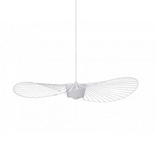 luminaire petite friture suspension vertigo acier et fibre de verre blanc d140cm 11010047 principale