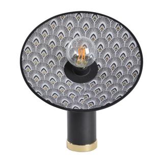 luminaire market set lampe de table gatsby métal et motif paon 11050003 principale