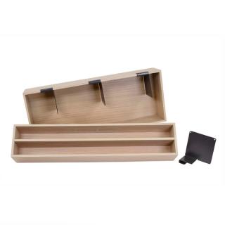Set de 2 boîtes de rangement en bois pour casserolier Schmidt grande profondeur