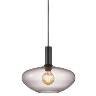 luminaire nordlux suspension alton 35 métal et verre fumé 11010035 principale