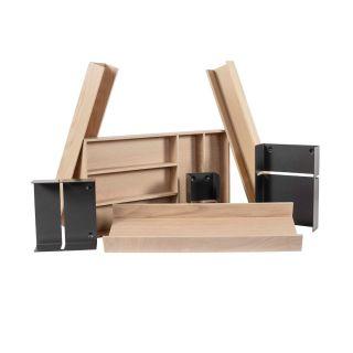 Range-couverts bois modulable 7 éléments pour tiroir Schmidt