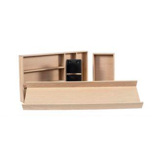 Range-couverts bois modulable 4 éléments pour tiroir Schmidt grande profondeur