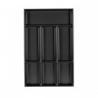 Range-couverts 7 compartiments pour tiroir Schmidt grande profondeur - bords droits