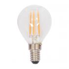 luminaire market set ampoule à filament led p45 edison dimmable verre transparent e14 4w 11060006 détail 1