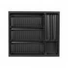 Range-épices 5 compartiments pour tiroir Schmidt - 21 tubes