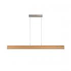 luminaire lucide suspension sytze éclairage led intégré bois clair 11010006 détail 1