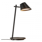 luminaire design for the people lampe de table stay éclairage led intégré aluminium et plastique noir 11050009 principale
