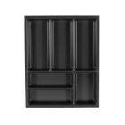 aménagement tiroir intérieur schmidt largeur 45 cm profondeur 57 cm thermoforme gris anthracite caneo rcou4555 principale