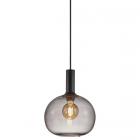 luminaire nordlux suspension alton 25 métal et verre fumé 11010029 principale
