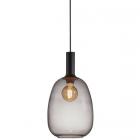 luminaire nordlux suspension alton 23 métal et verre fumé 11010028 principale