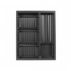 Range-épices 5 compartiments pour tiroir Schmidt - 12 tubes