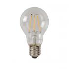 luminaire lucide ampoule filament led à intensité variable verre transparent e27 5w 11060002 détail 1