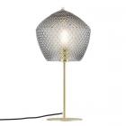 luminaire nordlux lampe de table orbiform laiton brossé et verre fumé 11050004 principale