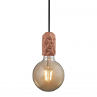 luminaire nordlux suspension hang porcelaine terracotta 11060010 principale