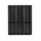 Range-couverts 6 compartiments pour tiroir Schmidt - bords droits