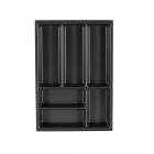aménagement tiroir intérieur schmidt largeur 40 cm profondeur 57 cm thermoforme gris anthracite caneo rcou4055 principale