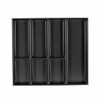 Range-couverts 7 compartiments pour tiroir Schmidt - bords droits