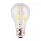 luminaire market set ampoule à filament led a60 edison verre transparent e27 8w 11060007 détail 1