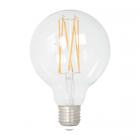 luminaire market set ampoule à filament led g80 globe dimmable verre transparent e27 8w 11060005 détail 1