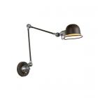 luminaire lucide applique murale honoré bras flexible métal rouille 11020014 principale